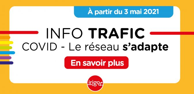 Info Trafic COVID - Changement horaires le 3 mai